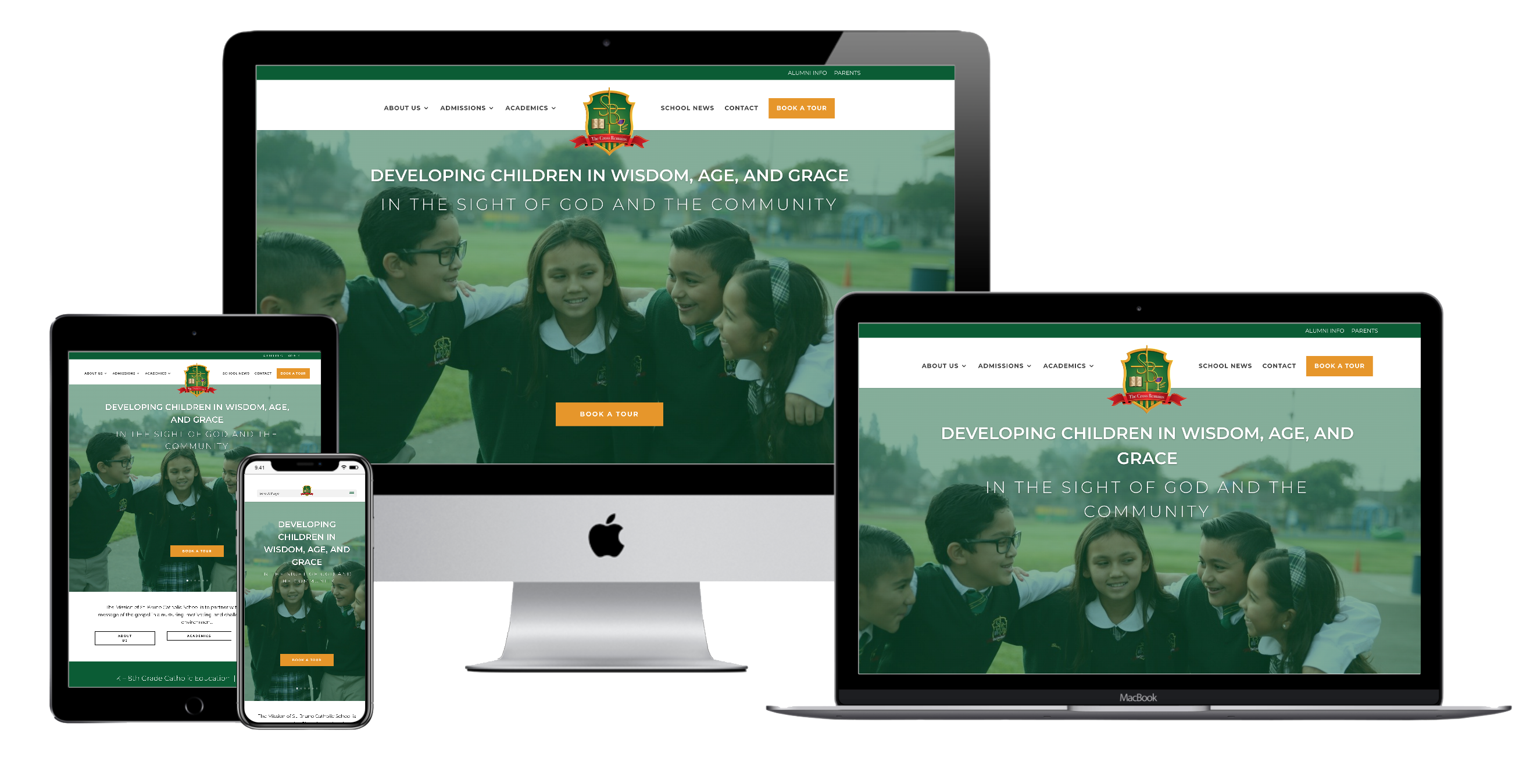 Drive enrollment with your new website